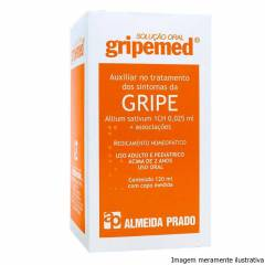 Gripemed Solução Oral - Auxiliar no Tratamento da Gripe (120 mL)