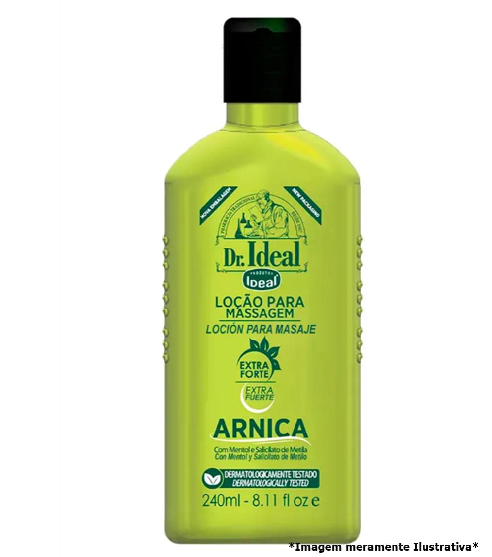 Loção Para Massagem de Arnica- Frescor e Alivio Para as Pernas(240mL) - Tito Farma
