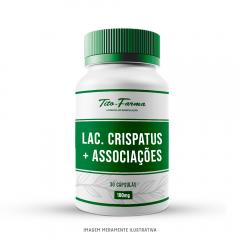 Lactobacillus Crispatus + Associações - Probióticos Para Saúde Vaginal (30 Cps)