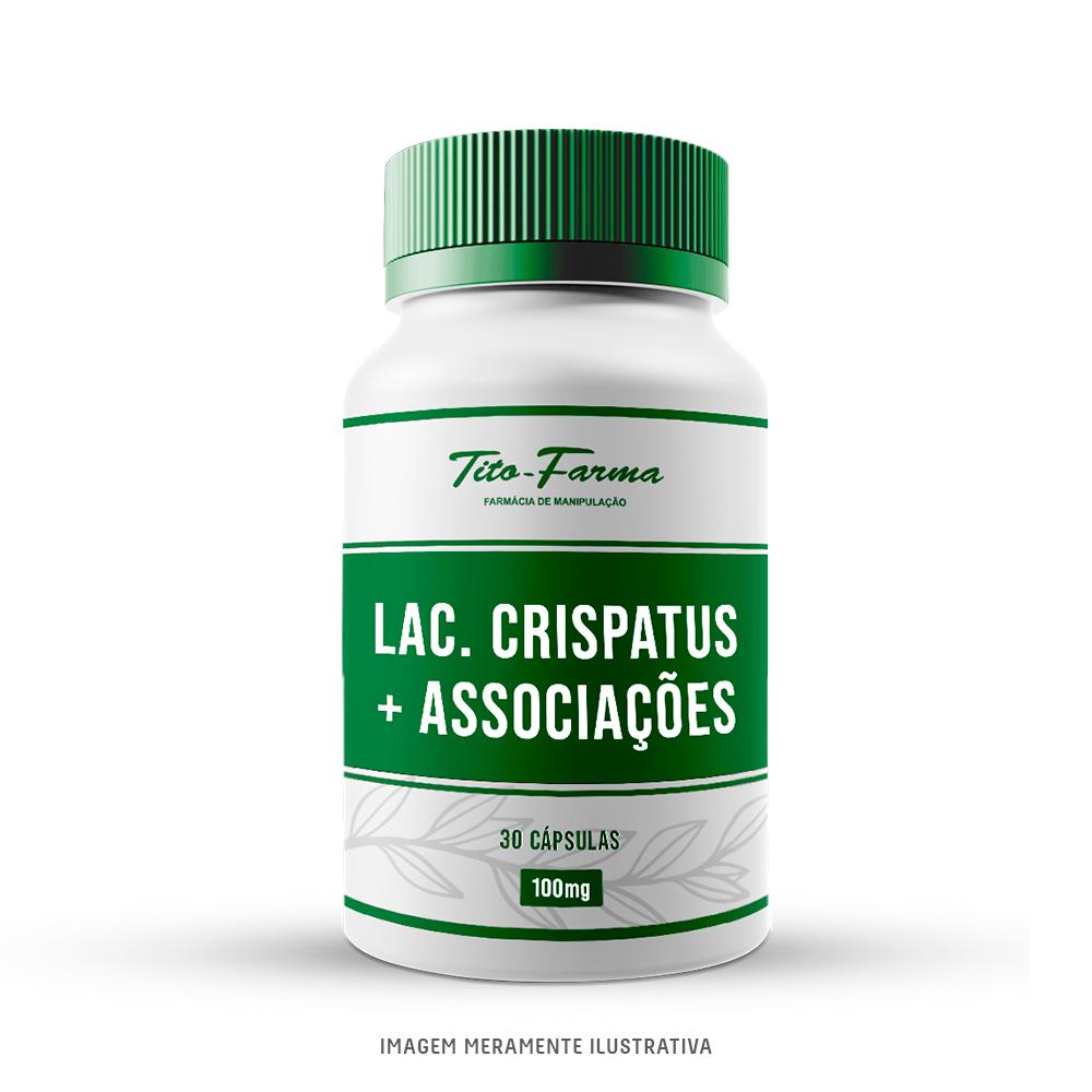 Lactobacillus Crispatus + Associações - Probióticos Para Auxiliar na Saúde Vaginal (30 Cps) - Tito Farma