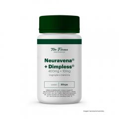 Neuravena 400mg + Dimpless 10mg - Cognição e Memória (30 Cps)