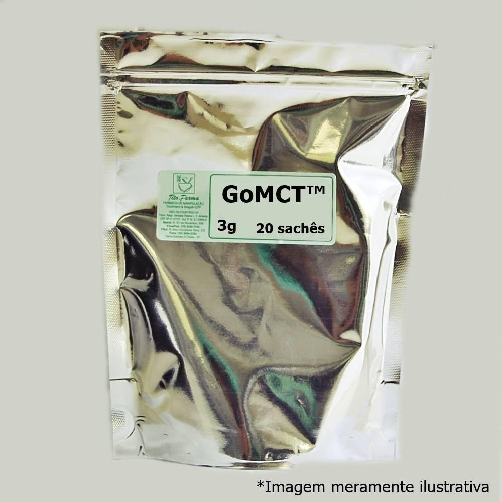 GoMCT™ 3g - Energia Rápida e Sustentada para o Corpo e Mente (20 Sachês) - Tito Farma