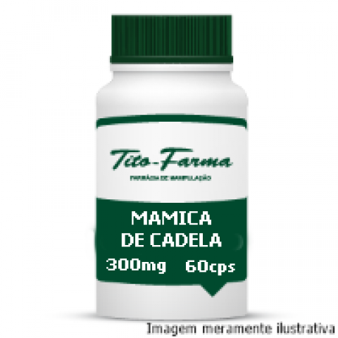 Mamica de Cadela 300mg - Auxiliar nas Dores Articulares e Vitiligo ( 60 cps ) - Tito Farma