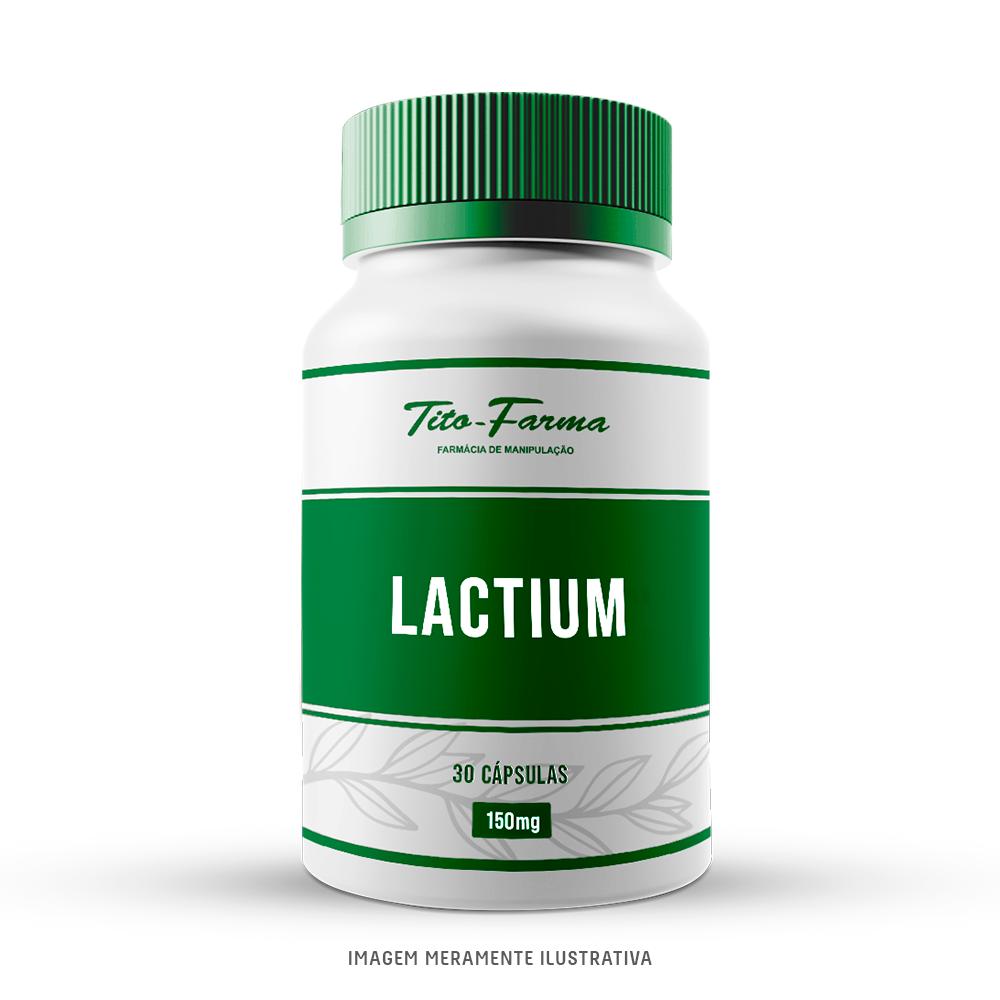 LACTIUM - Auxilia no Alívio dos Sintomas Físicos e Emocionais Referente a Estresse (150mg - 30 Cps) - Tito Farma