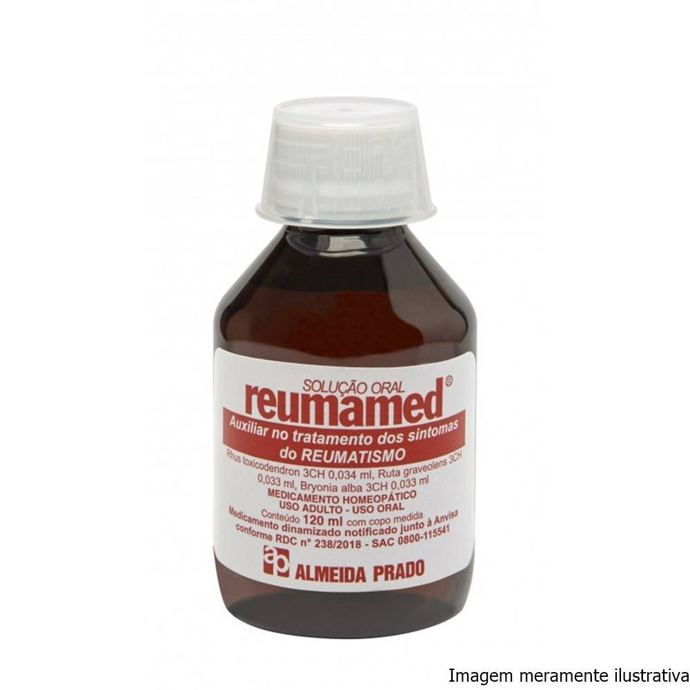 Reumamed - Auxiliar no Tratamento do Reumatismo (120mL Solução Oral) - Tito Farma