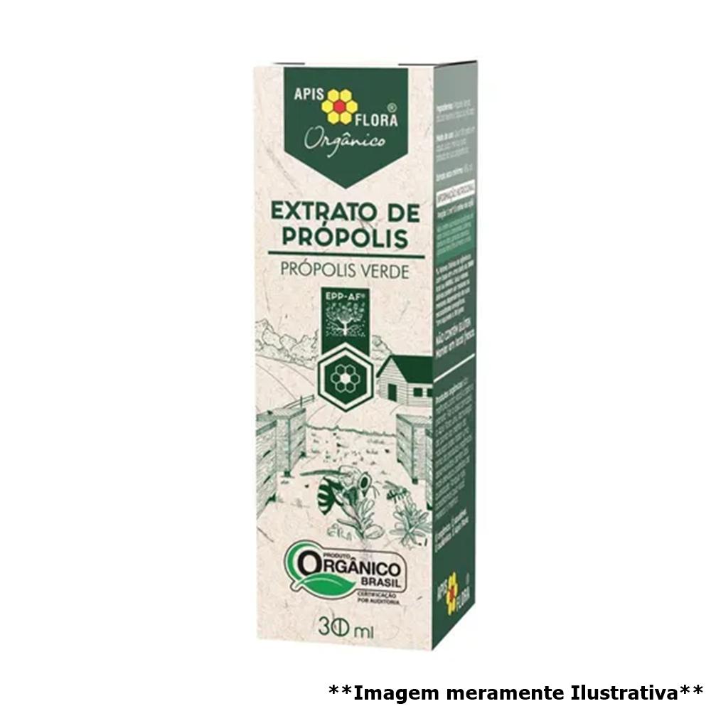 Extrato de Própolis Verde Orgânico - Antibiótico Natural (30mL) - Tito Farma