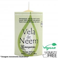 Vela Neem Alergoshop - 140g