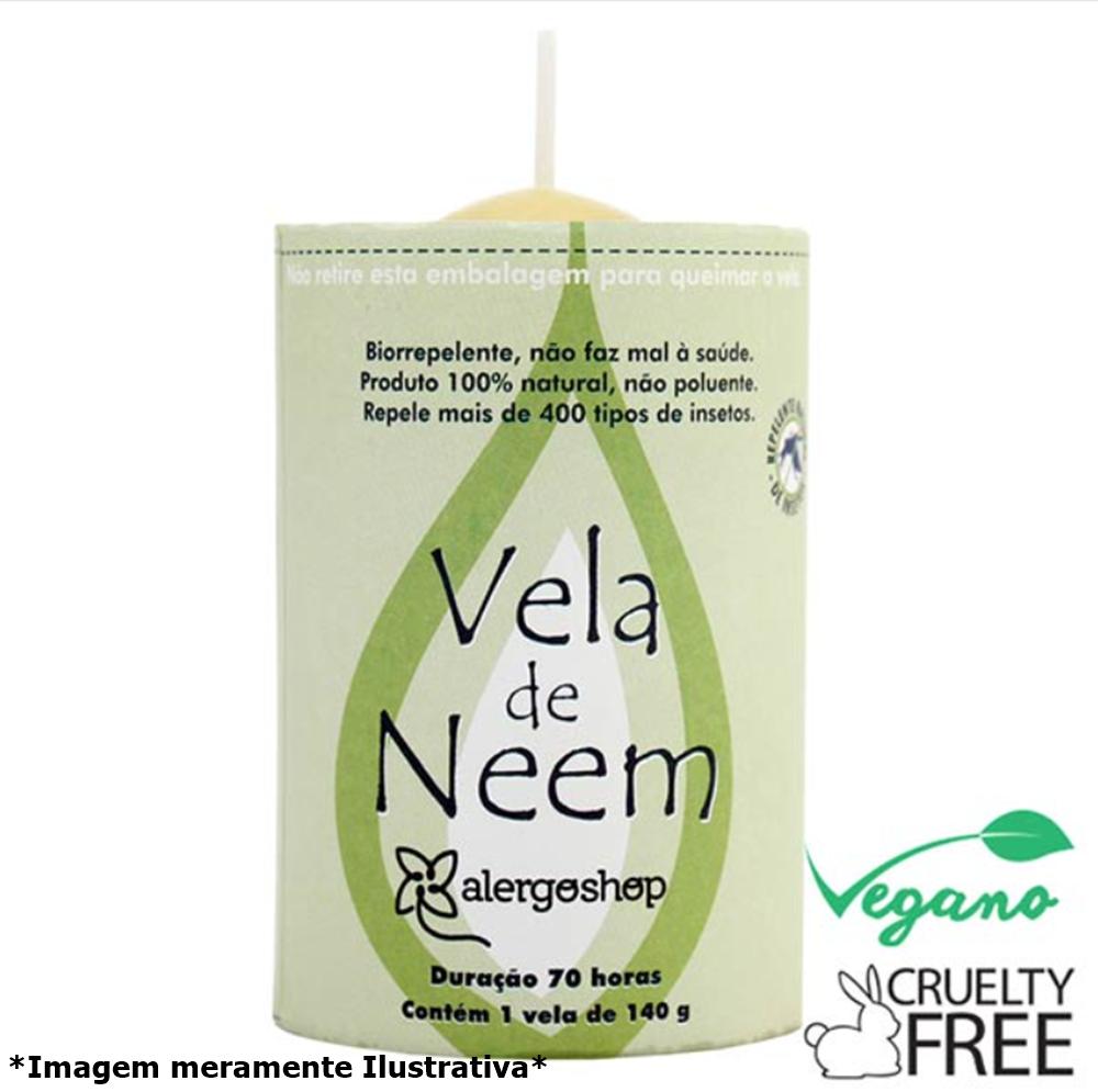 Vela Neem Alergoshop - 140g - Tito Farma