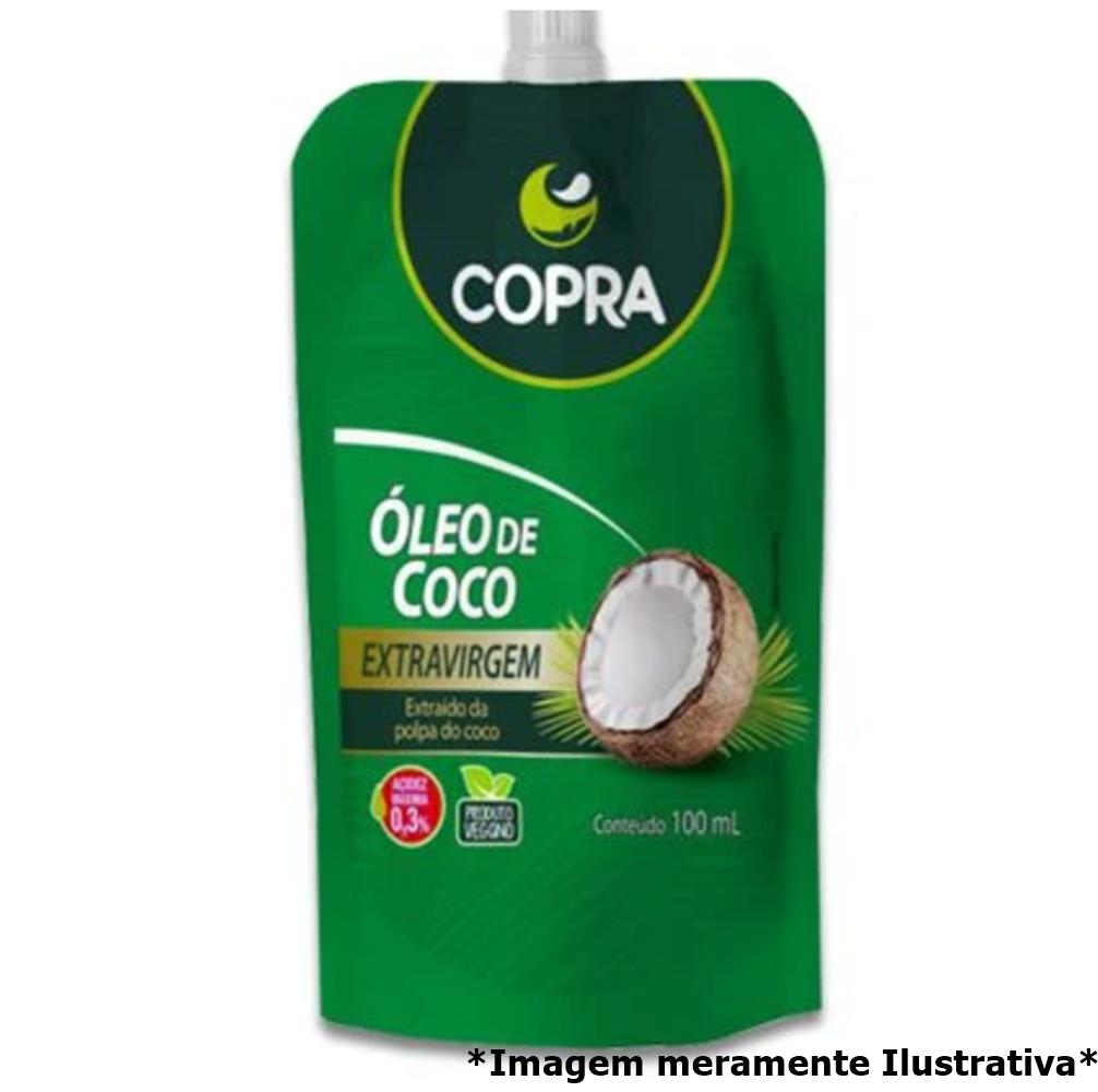 Óleo de Coco Extra Virgem em Bisnaga - Promove Menor Acúmulo de Gorduras no Corpo (100mL) - Tito Farma