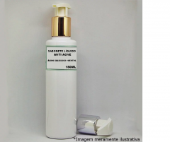 Sabonete Líquido Anti Acne com Ácido Salicílico e Mentol - 150ml