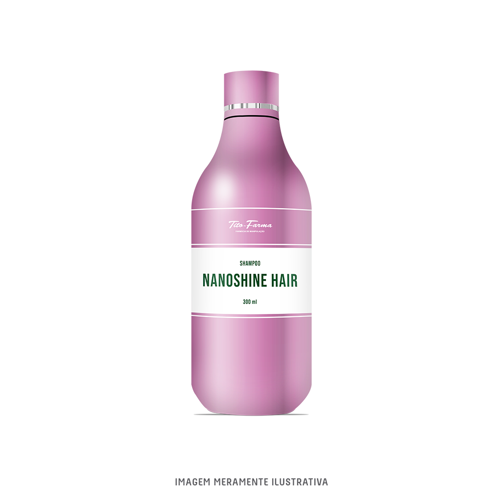 Shampoo Super Brilho com NanoShine Hair - 300ml - Tito Farma