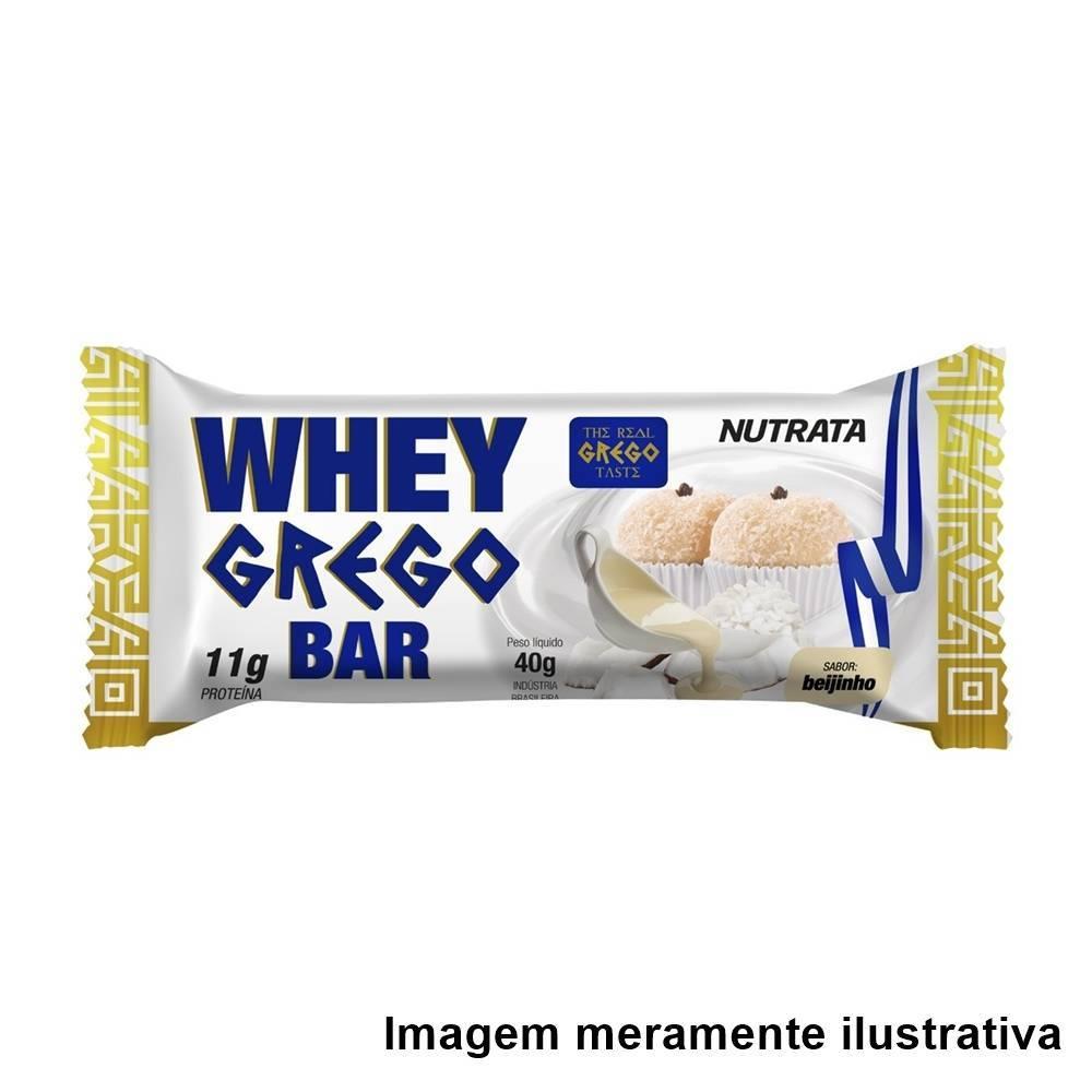 Whey Grego Bar - Sabor Beijinho (40g) - Tito Farma