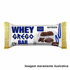 Whey Grego Bar - Sabor Brigadeiro (40g)
