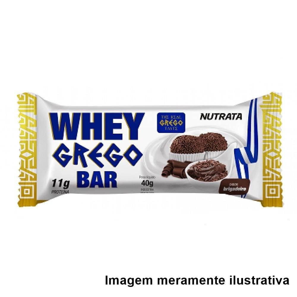 Whey Grego Bar - Sabor Brigadeiro (40g) - Tito Farma