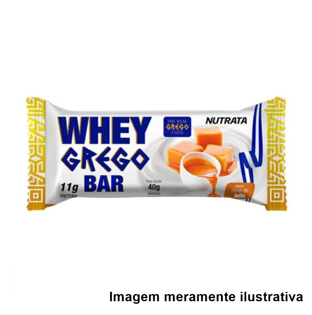 Whey Grego Bar - Sabor Doce de Leite (40g) - Tito Farma