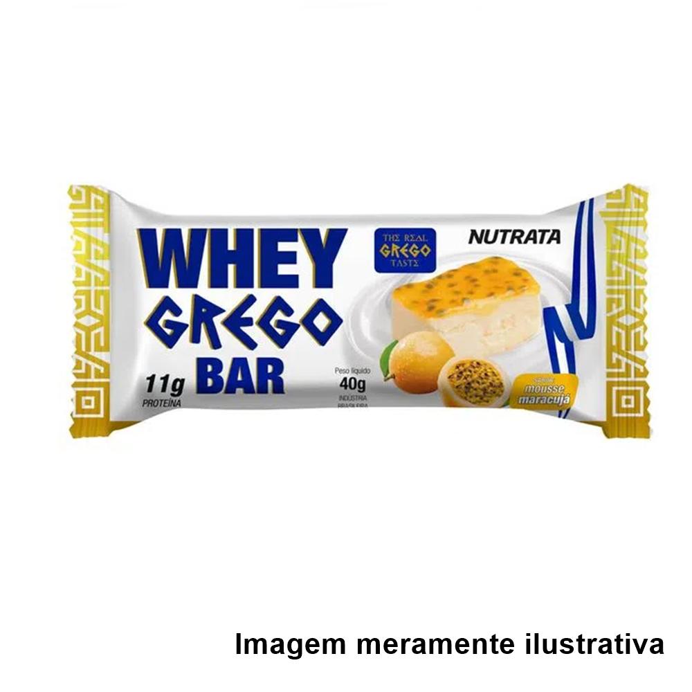 Whey Grego Bar - Sabor Mousse de Maracujá (40g) - Tito Farma