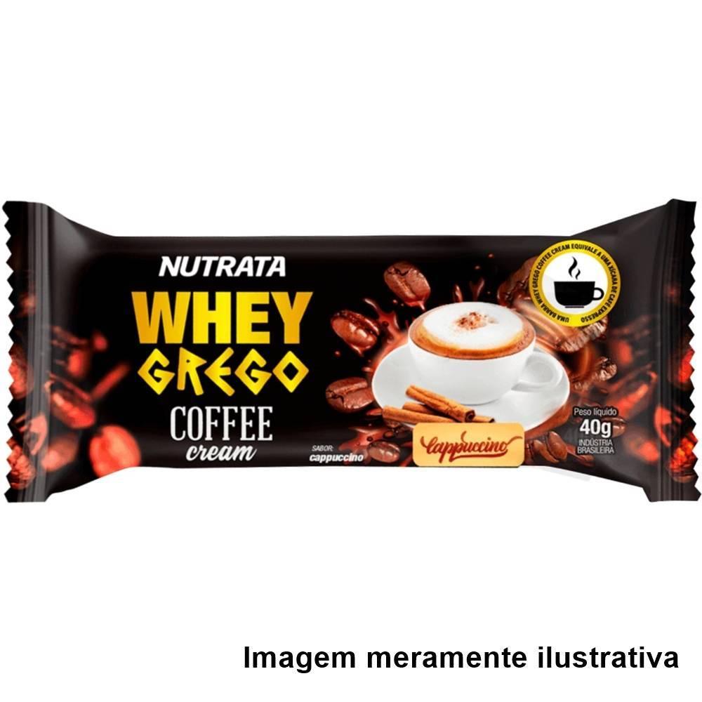Whey Grego Bar - Coffee Cream Cappuccino (40g) - Tito Farma