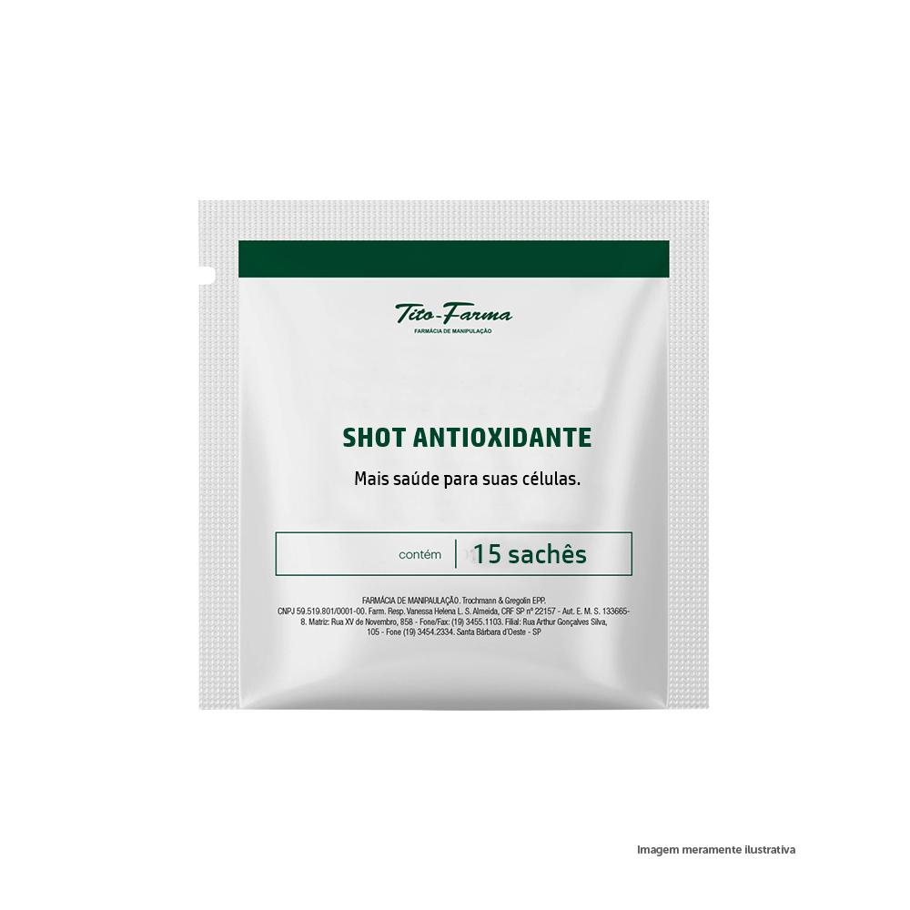 Shot Antioxidante - 15 sachês  - Tito Farma