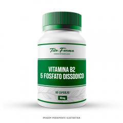 Vitamina B2 - 5 Fosfato dissodico 50mg - 60 cps