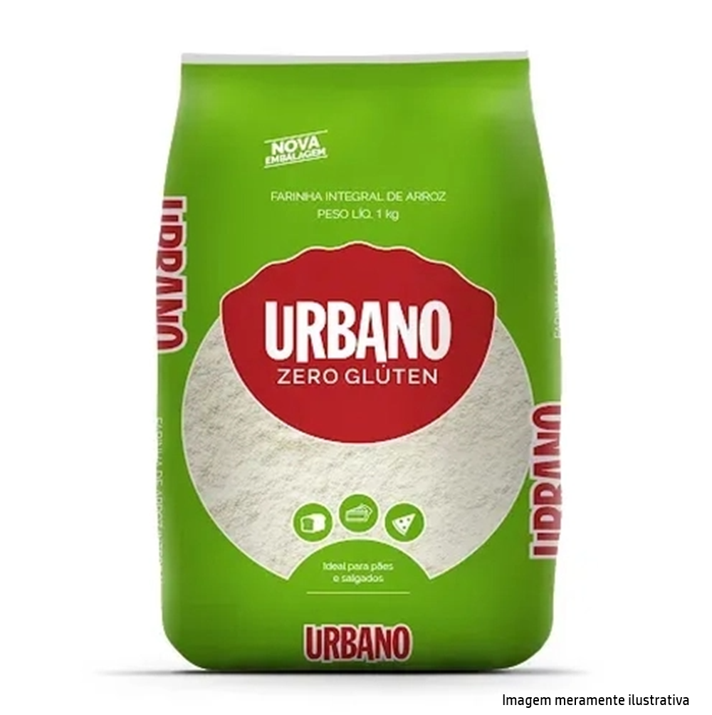 Farinha de Arroz Integral- Fonte de Fibras, Vitaminas, Minerais e Proteínas (1Kg) - Tito Farma