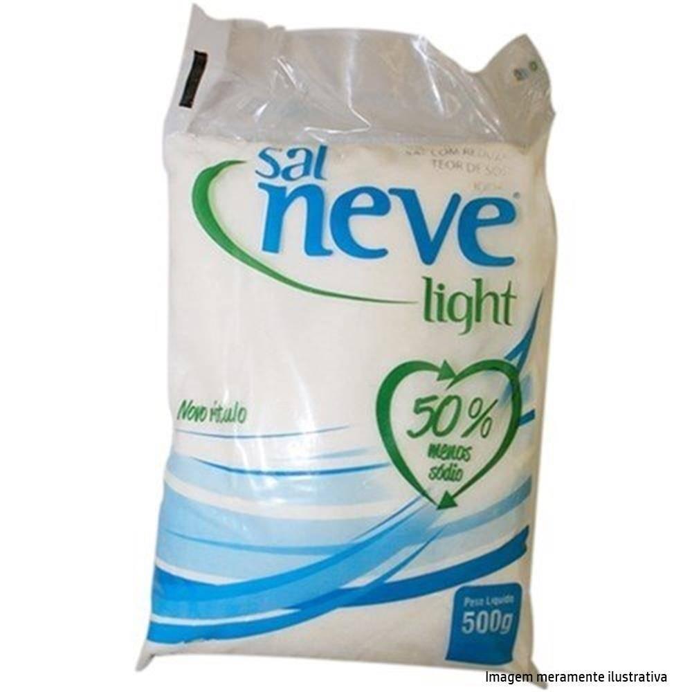 Sal Neve Light - 50% Menos Sódio que o Sal Comum (500g) - Tito Farma