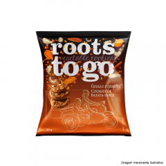 Cookies Batata-Doce, Cenoura E Gengibre Roots To Go - 30g