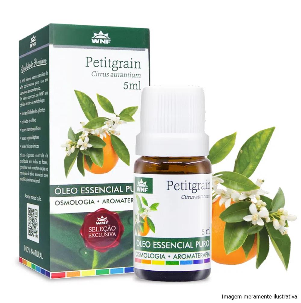 Óleo essencial puro Petitgrain WNF - 5mL - Tito Farma