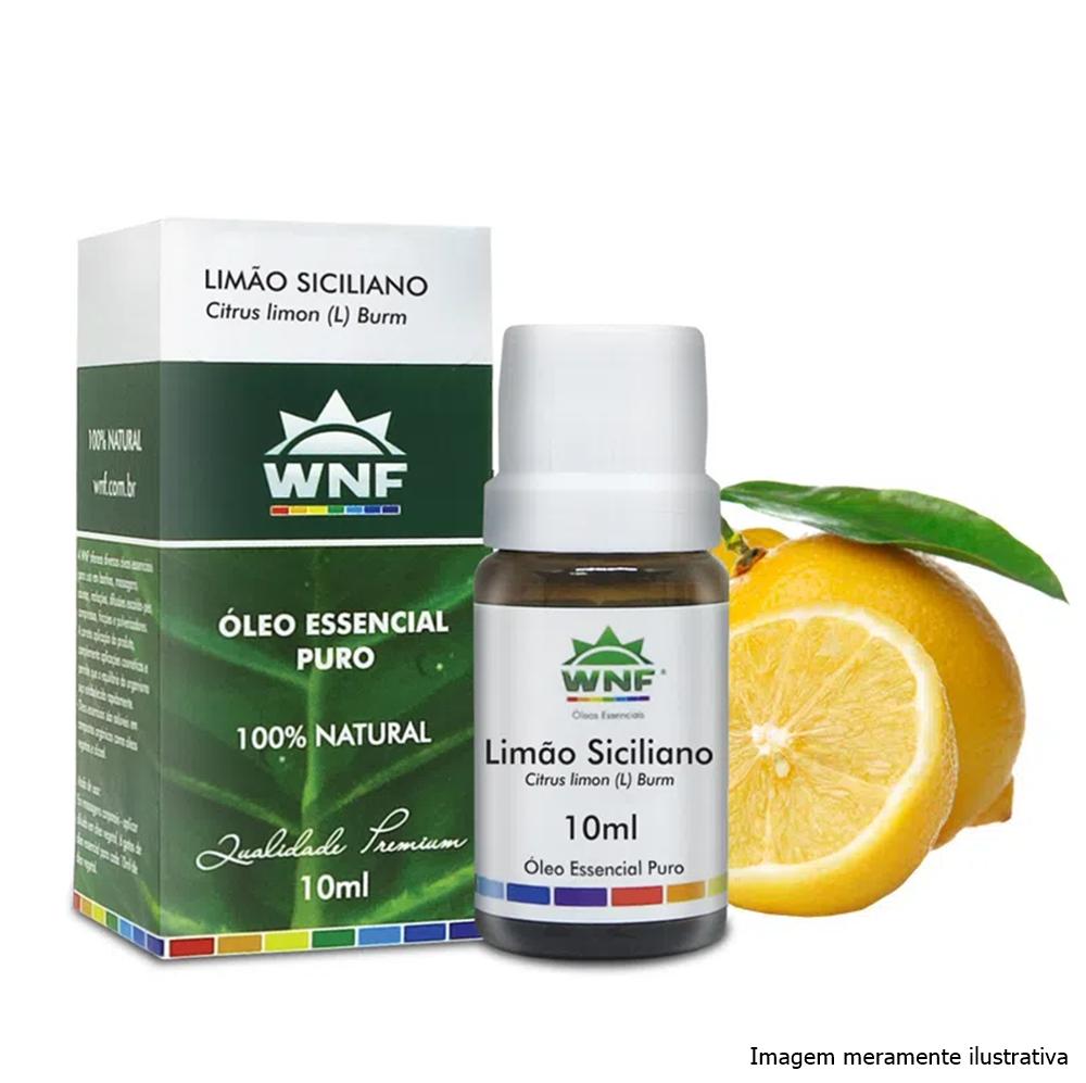 Óleo Essencial Limão Siciliano WNF - 10mL - Tito Farma