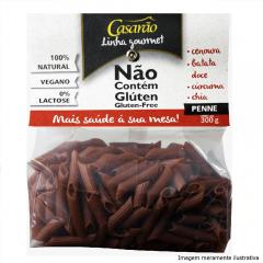 Macarrão de Arroz Gourmet com: Cenoura, Batata Doce, Cúrcuma e Chia (300g)