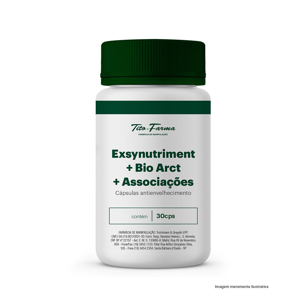 Exsynutriment + Bio Arct + Associações - Cápsulas Antienvelhecimento (30 Cps) - Tito Farma