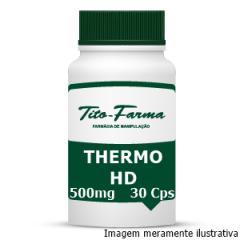 Thermo HD - Aumento da Performance Física e Ação Termogênica (500mg - 30 Cps)