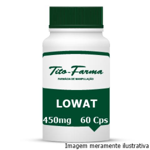 Lowat - Redução da Formação e Acúmulo de Gordura (450mg - 60 Cps) - Tito Farma