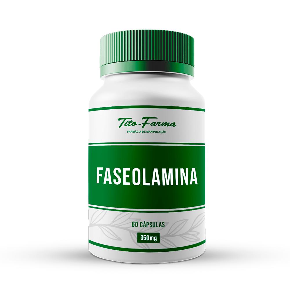 Faseolamina - Auxilia no Bloqueio da Absorção de Amido (350mg - 60 Cps) - Tito Farma