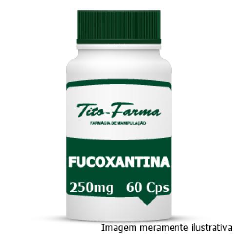 Fucoxantina - Auxilia a Regular o Metabolismo e Combate a Gordura Abdominal (250mg - 60 Cps) - Tito Farma