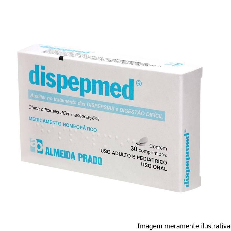 Dispepmed - Auxiliar no Tratamento das Dispepsias e Digestão Difícil (30 Comprimidos) - Tito Farma