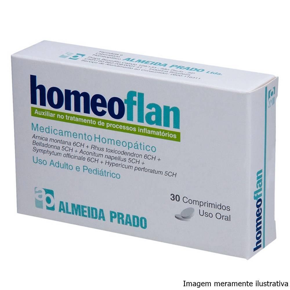 Homeoflan - Auxiliar no Tratamento de Processos Inflamatórios (30 Comprimidos) - Tito Farma