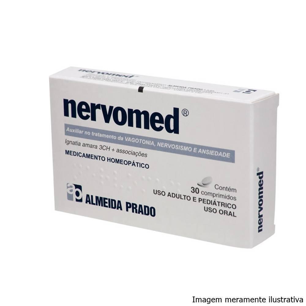 Nervomed - Auxiliar no Tratamento do Nervosismo e Ansiedade (30 Comprimidos) - Tito Farma
