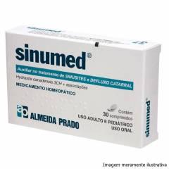 Sinumed - Auxiliar no Tratamento de Sinusites e Defluxo Catarral (30 Comprimidos)