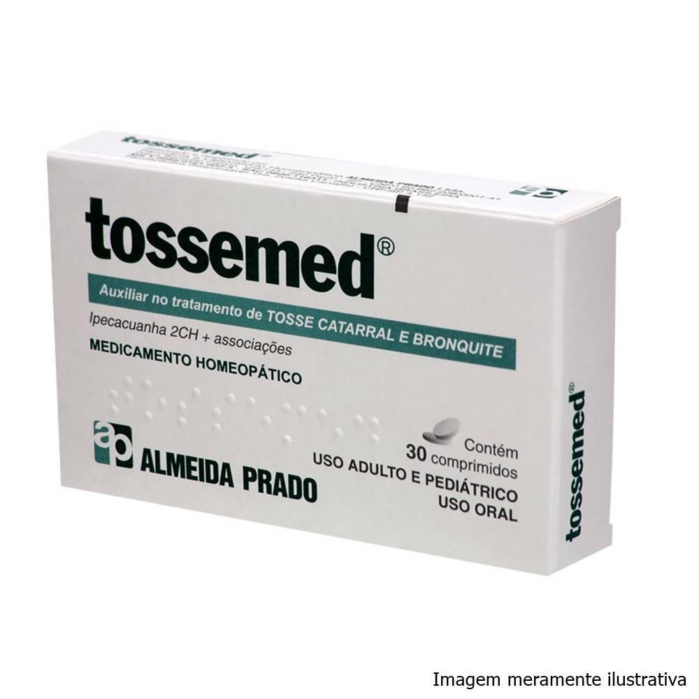 Tossemed - Auxiliar no Tratamento de Tosse Catarral e Bronquite (30 Comprimidos) - Tito Farma