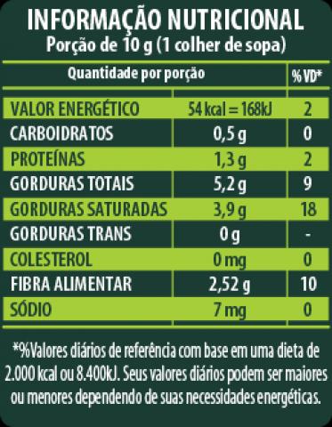 Farinha de Coco - Rica em Proteínas, Ferro e Cálcio (400g) - Tito Farma
