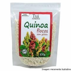 Quinua em Flocos - Fonte de Proteínas, Vitaminas e Ômega 3 e 6 (200g)