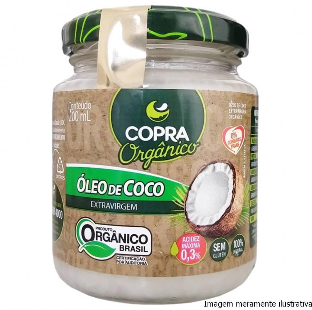 Óleo de Coco Orgânico - Promove Menor Acúmulo de Gorduras no Corpo (200mL) - Tito Farma