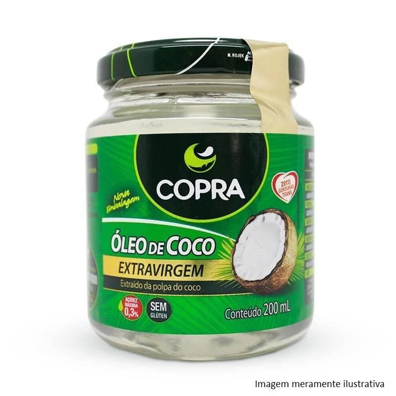 Óleo de Coco Extra Virgem - Promove Menor Acúmulo de Gorduras no Corpo (200mL) - Tito Farma