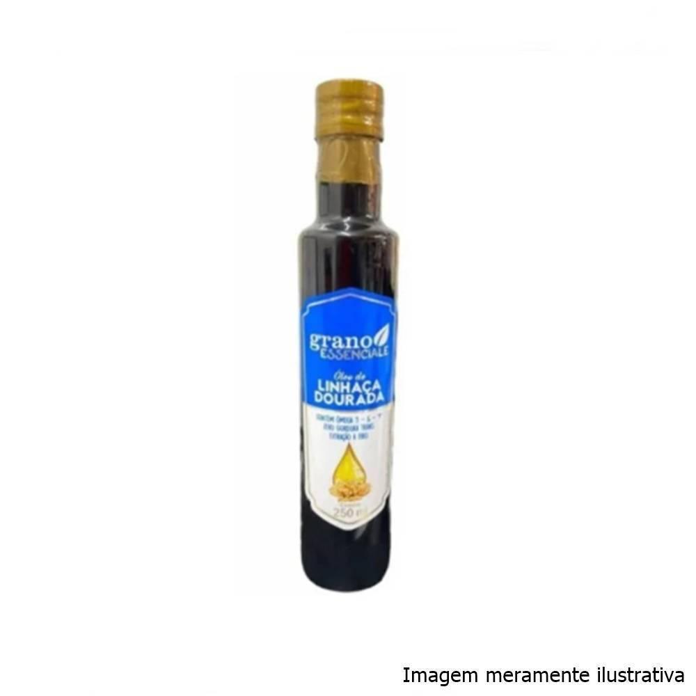 Óleo de Linhaça Dourada - Fonte de Vitamina E, Ômega 3, 6 e 9 (250mL) - Tito Farma