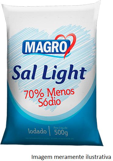 Sal Light - 70% Menos Sódio que o Sal Comum (500g) - Tito Farma