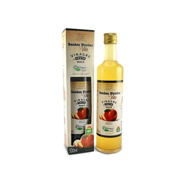Vinagre de Maçã Orgânico - Saciedade, Melhor Digestão e Prevenção de Diabetes (500mL) - Tito Farma