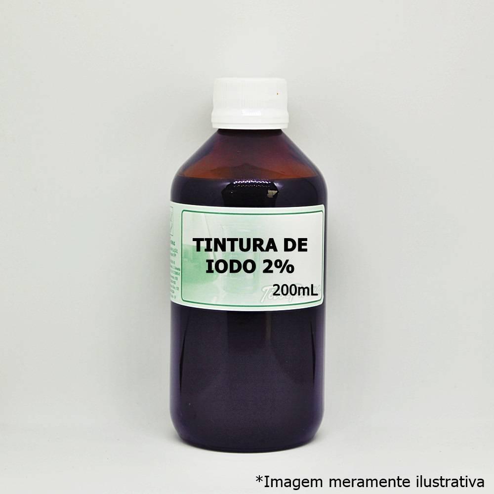 Tintura de Iodo 2% - Iodo Para Uso Tópico (200mL) - Tito Farma