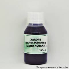 Xarope Expectorante (Zero Açúcar) - Uso Permitido para Diabéticos (100mL)
