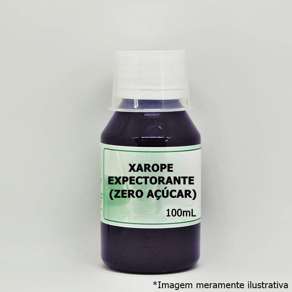 Xarope Expectorante (Zero Açúcar) - Uso Permitido para Diabéticos (100mL) - Tito Farma