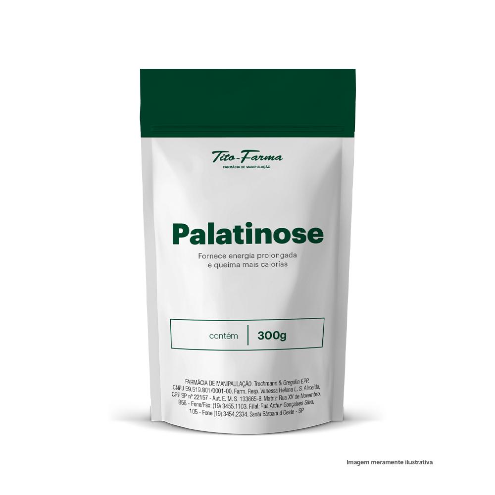 Palatinose - Fornece Energia Prolongada e Queima Mais Calorias (300g) - Tito Farma